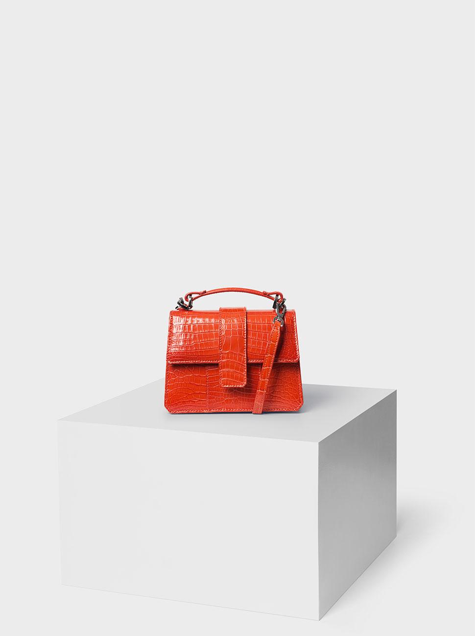 The M2 crocodile bag orange