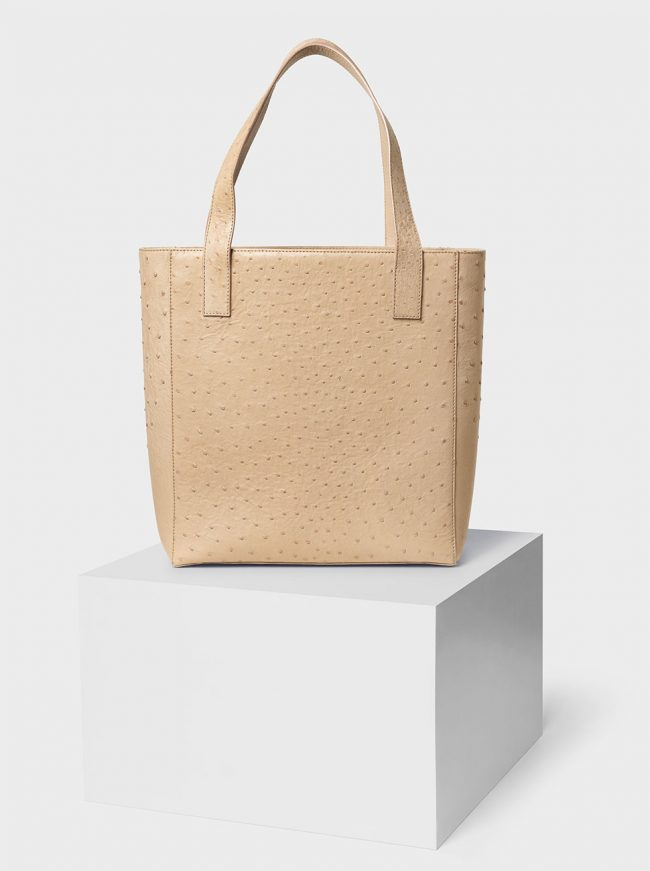 The Ned ostrich bag oryx light