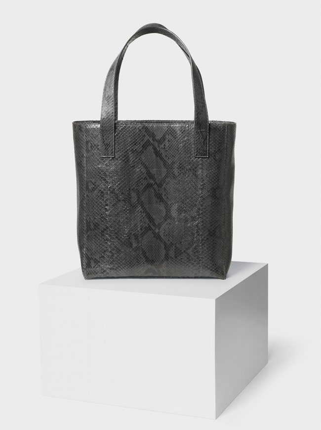 The Ned python bag anthracite