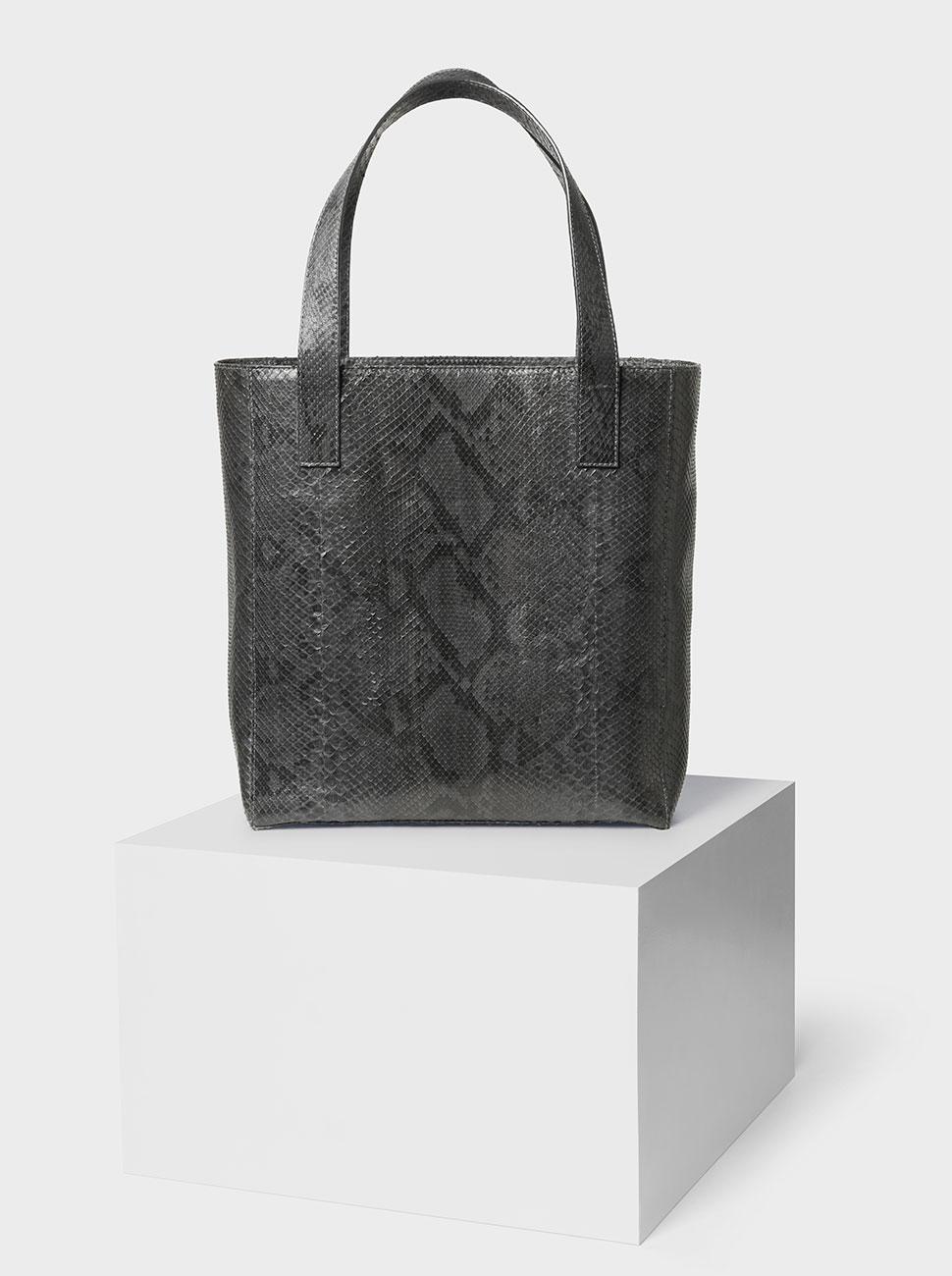 The Ned python bag anthracite