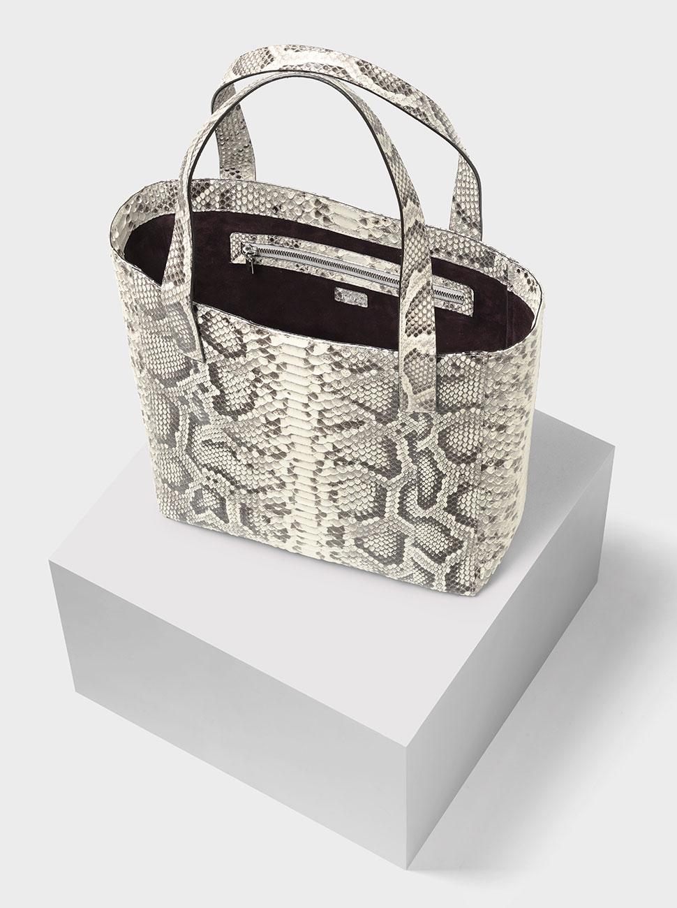The Ned python bag natural BC